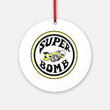 superbombsstickerv2 Round Ornament