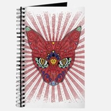 Cool Egyptian style mystic cat Journal