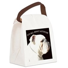ITS ALL ABOUT ATTITUDE Canvas Lunch Bag