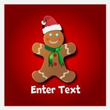 Cute Gingerbread Invitations