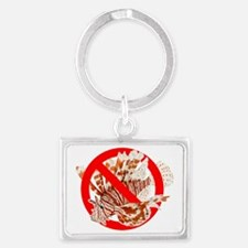 Red Lionfish Landscape Keychain