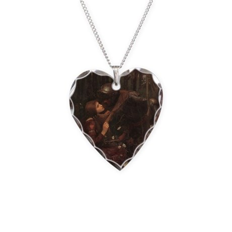 la belle dame sans merci necklace heart charm by admin
