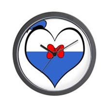 I heart Donald Duck Wall Clock