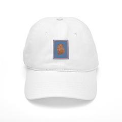 5 point red Sharpei Cap