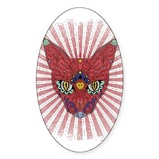 Cool Egyptian style mystic cat Decal