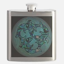 SwirlTile3 Flask