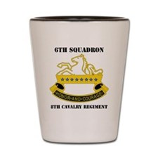 6-8 CAV REG  WITH TEXT Shot Glass