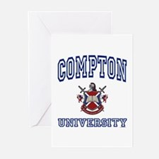COMPTON University Greeting Cards (Pk of 10)