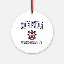 COMPTON University Ornament (Round)
