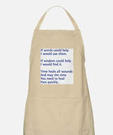 greeting card text 2 png Apron