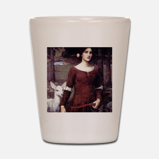 The Lady Clare Shot Glass