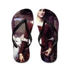 The Lady Clare Flip Flops