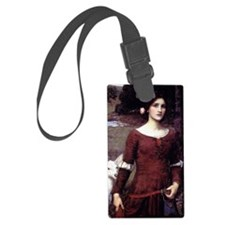 The Lady Clare Luggage Tag