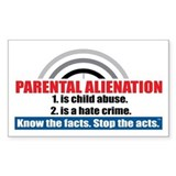 Parental alienation Stickers & Flair