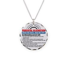 PA-know facts Necklace Circle Charm