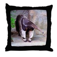 (12p) Giant Anteater Front Throw Pillow