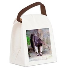 (12p) Giant Anteater Front Canvas Lunch Bag