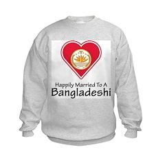 Happily Married Bangladeshi Sweatshirt