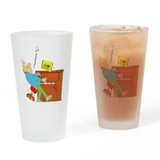 PianoWhistler10x10 Drinking Glass