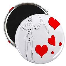 Blackbeard-Hearts Magnet