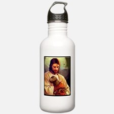 And On The 8th Day Sports Water Bottle