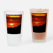 Sequoia-Sunset Drinking Glass