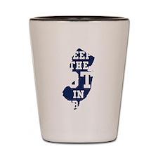 Jersey Shot Glass
