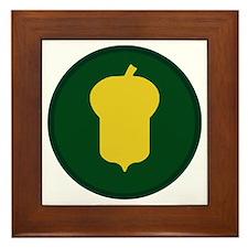 87th Infantry Division Framed Tile