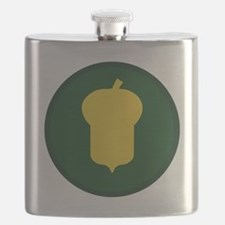 87th Infantry Division Flask