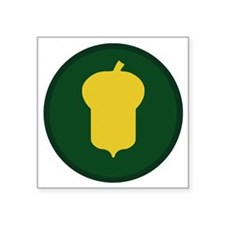 """87th Infantry Division Square Sticker 3"""" x 3"""""""