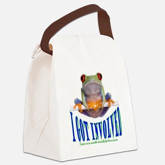i got involved logo.gif Canvas Lunch Bag