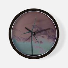 Wind Farm Wall Clock