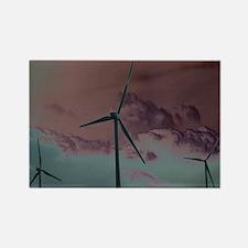 Wind Farm Rectangle Magnet