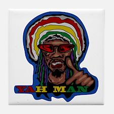 YAH MAN Tile Coaster