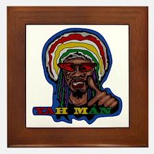 YAH MAN Framed Tile