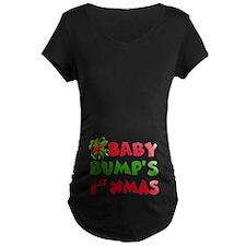 Baby Bump 1St Christmas Maternity T-Shirt