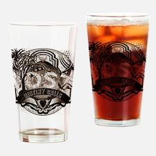 Destiny Calls Antique Brown Drinking Glass