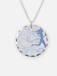 runner_girl_blue Necklace