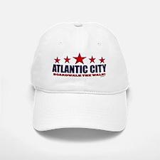 Atlantic City Boardwalk The Walk Baseball Baseball Cap