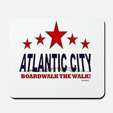 Atlantic City Boardwalk The Walk Mousepad