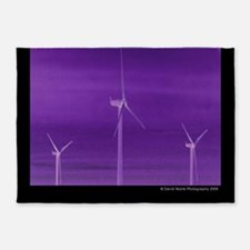 Wind Farm 5 5'x7'Area Rug