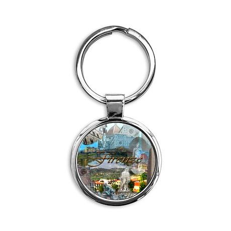 florence15btc- Round Keychain