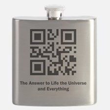 The Answer to Life the Universe and Everythi Flask