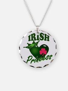 IrishPrincessgreenpk Necklace