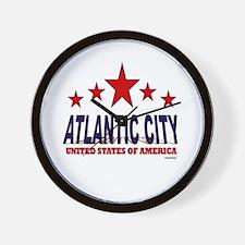 Atlantic City U.S.A. Wall Clock