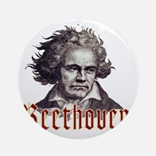 Beethoven-1 Round Ornament