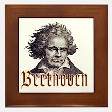 Beethoven-1 Framed Tile