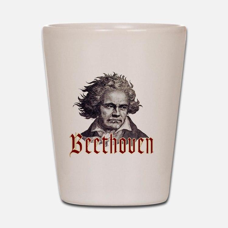 Beethoven-1 Shot Glass