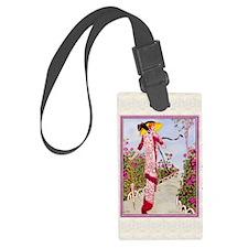 IPAD 4 APRIL GDBT-ROSE Luggage Tag