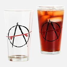 anarchy_1_light Drinking Glass